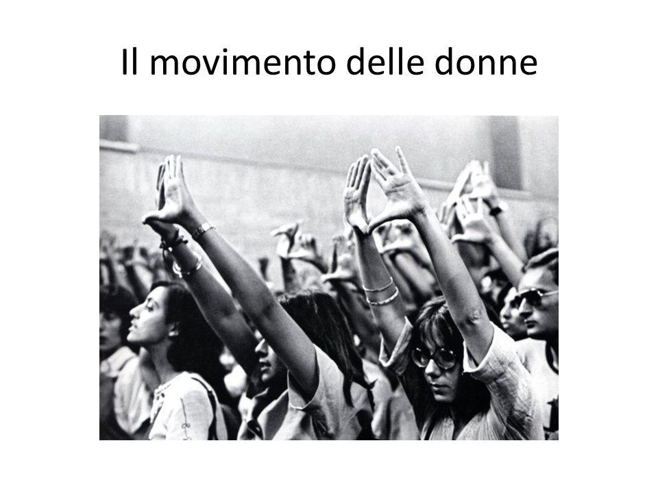 Il movimento delle donne