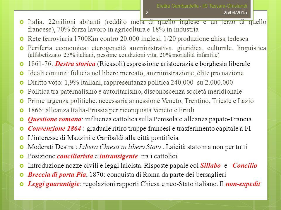 1866: alleanza Italia-Prussia per riconquista Veneto e Friuli