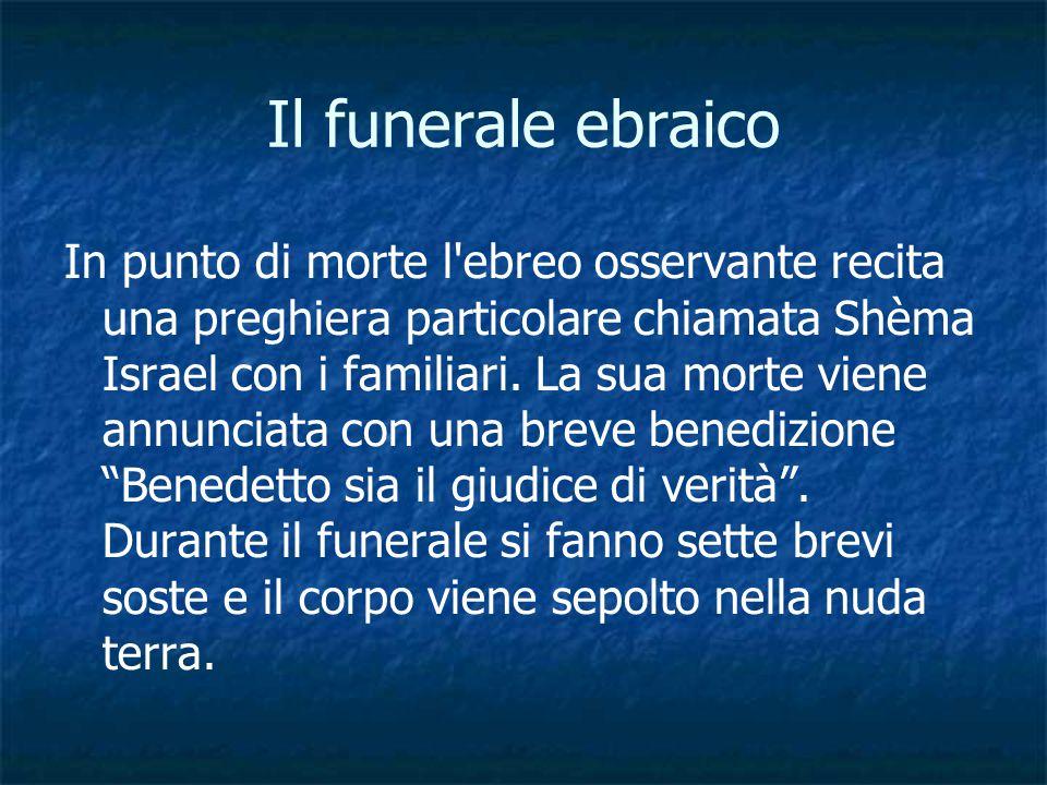 Il funerale ebraico