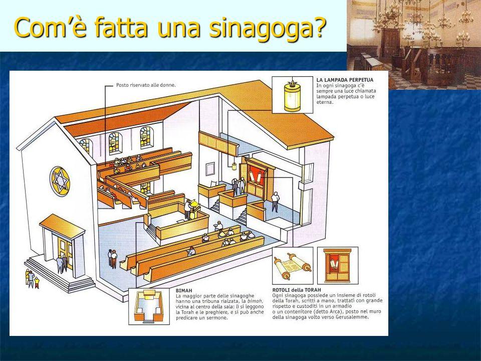 Com'è fatta una sinagoga