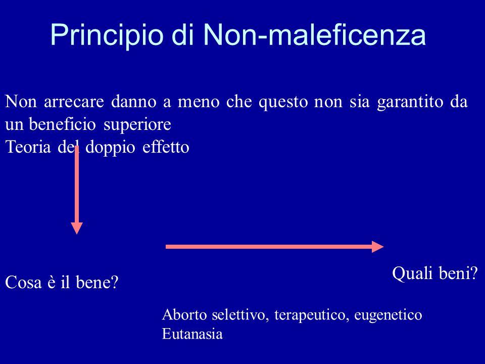 Principio di Non-maleficenza