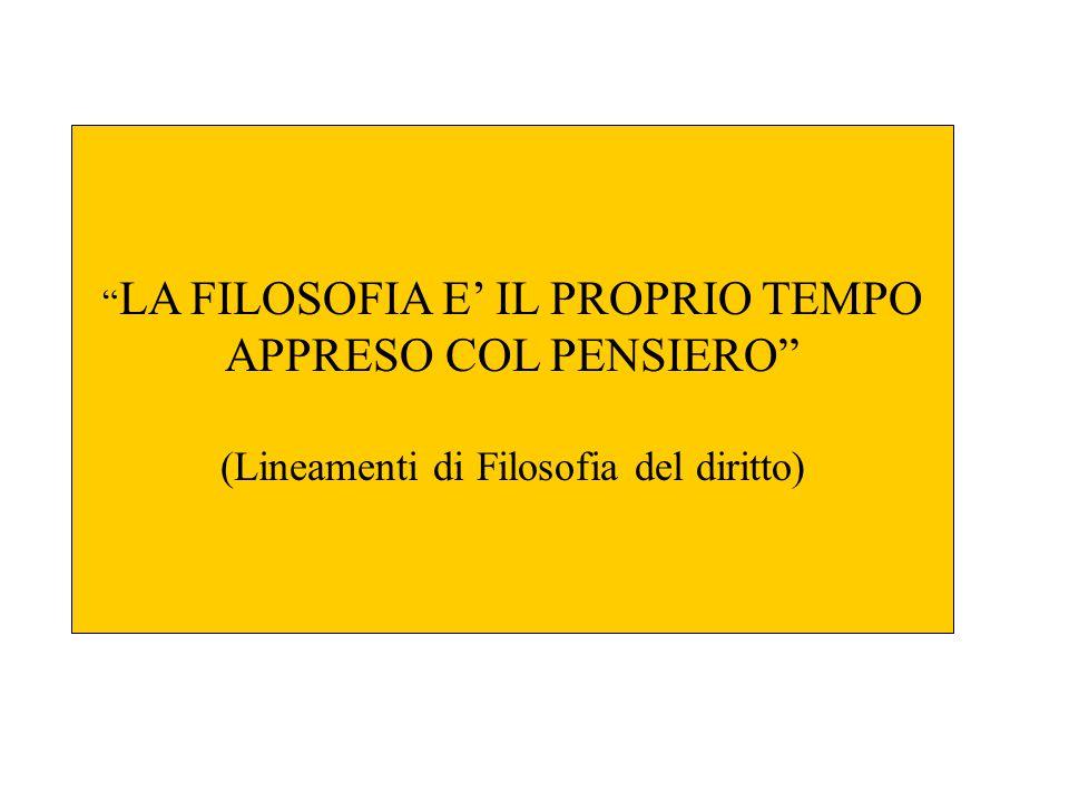 APPRESO COL PENSIERO (Lineamenti di Filosofia del diritto)