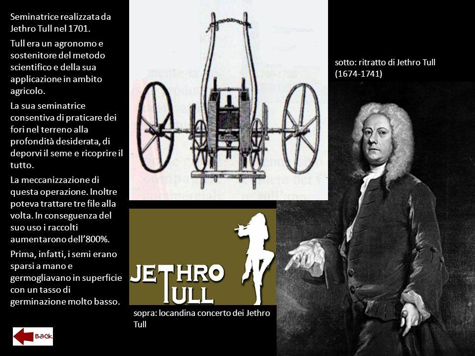 Seminatrice realizzata da Jethro Tull nel 1701.