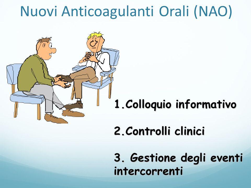 Nuovi Anticoagulanti Orali (NAO)