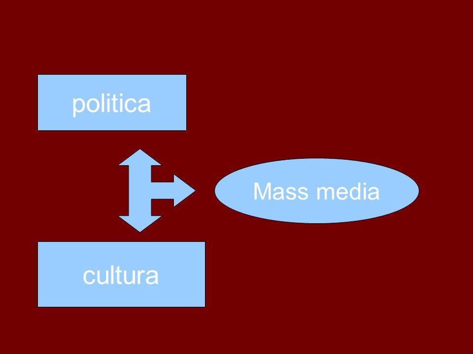 politica Mass media cultura