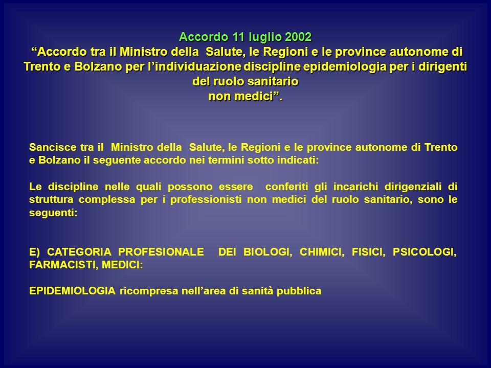 Accordo 11 luglio 2002