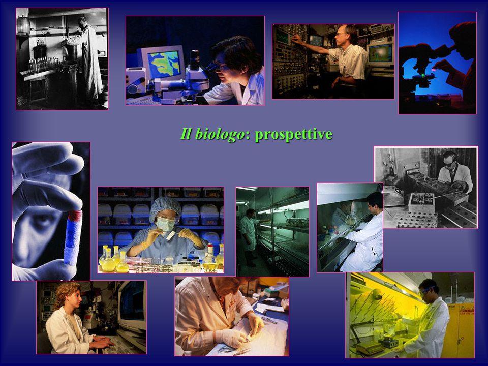 Il biologo: prospettive