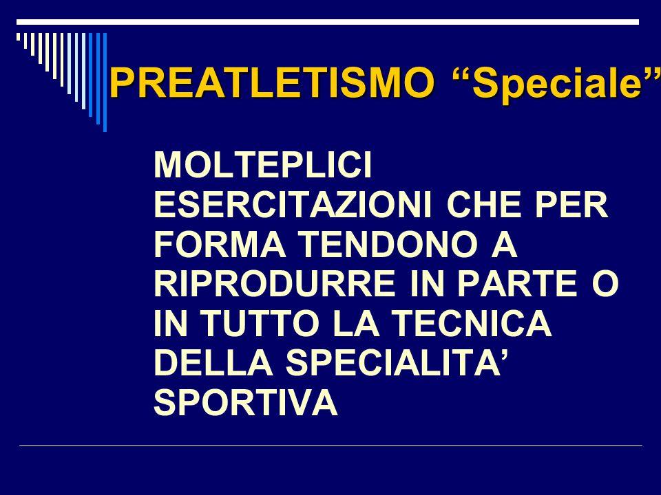 PREATLETISMO Speciale