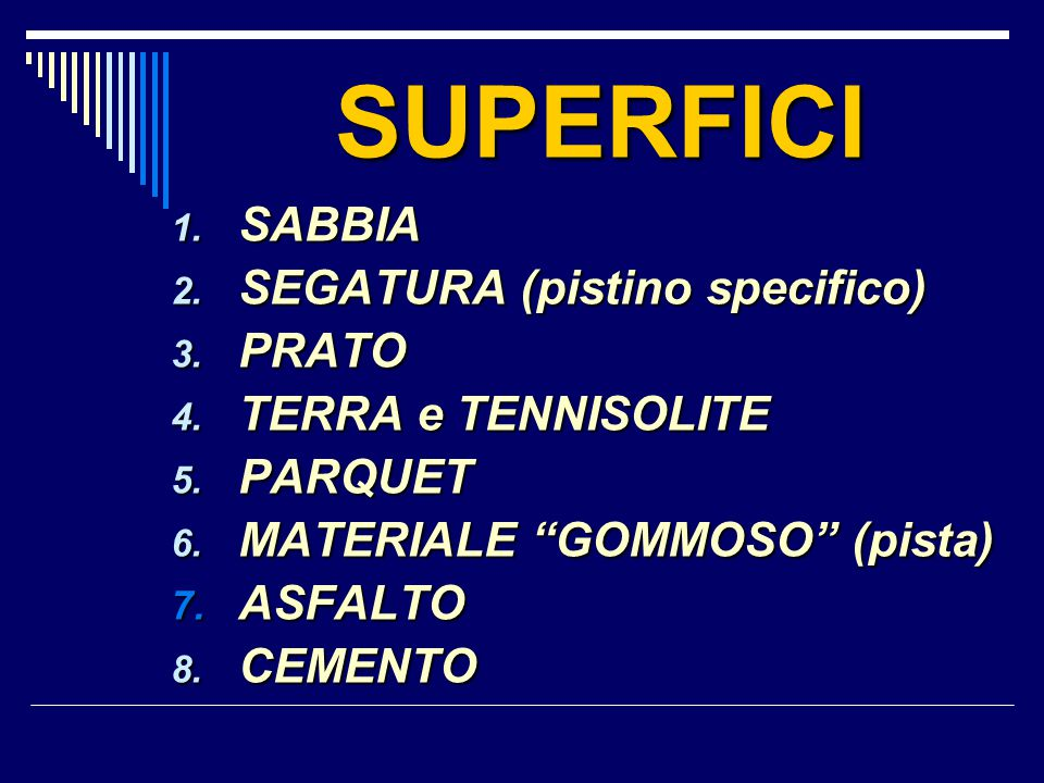 SUPERFICI SABBIA SEGATURA (pistino specifico) PRATO