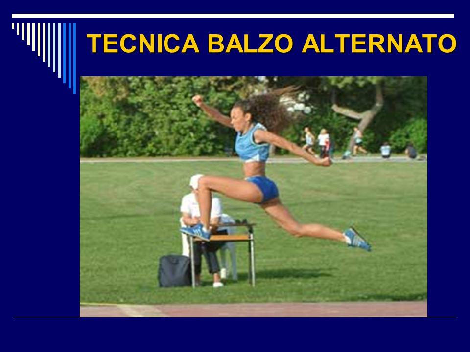 TECNICA BALZO ALTERNATO
