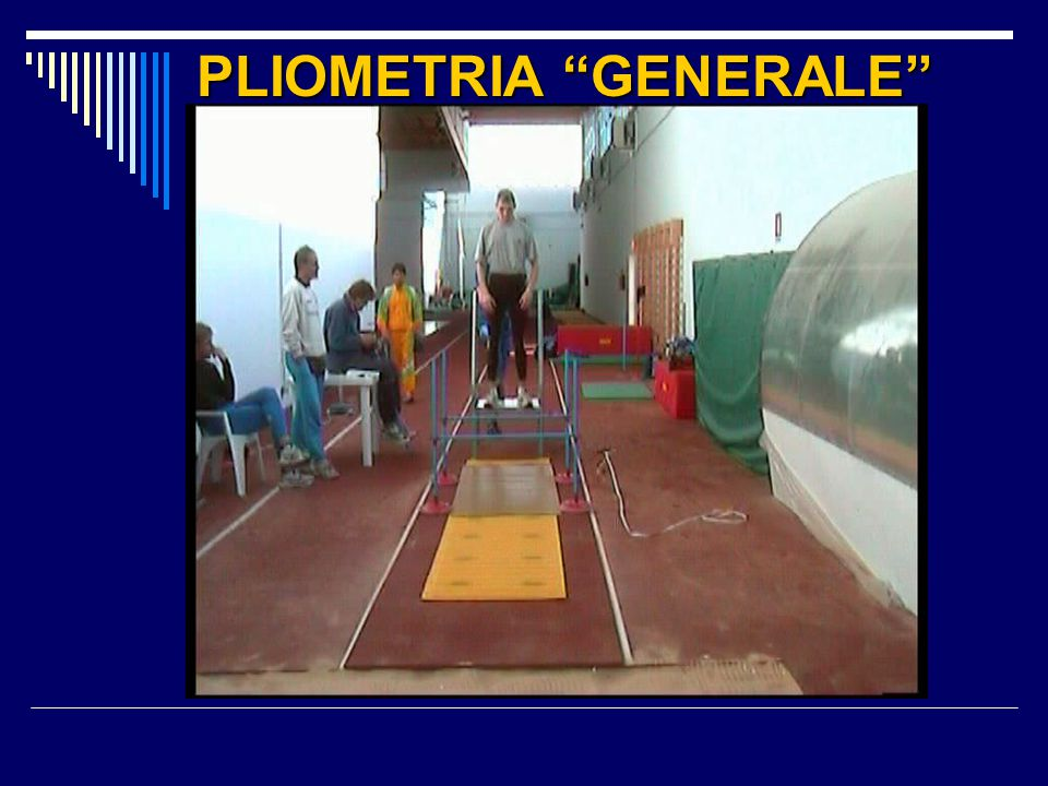 PLIOMETRIA GENERALE