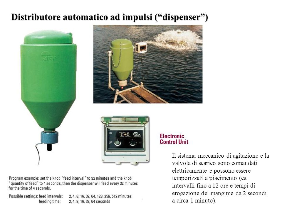 Distributore automatico ad impulsi ( dispenser )