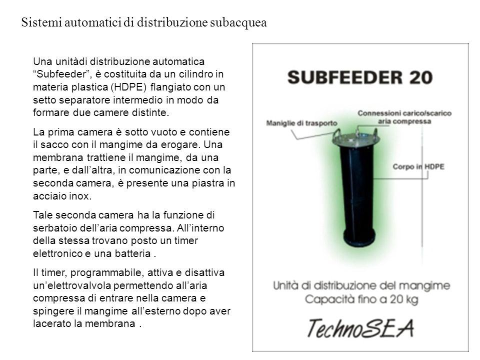 Sistemi automatici di distribuzione subacquea
