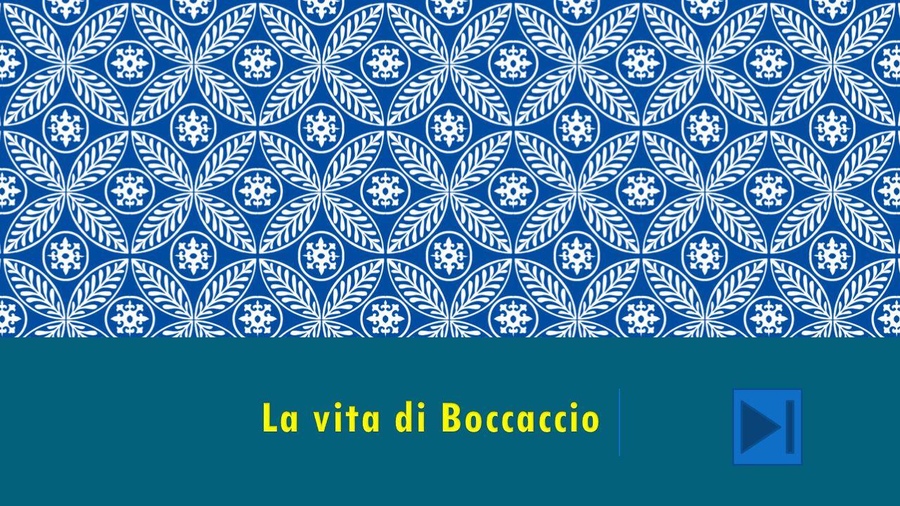 La vita di Boccaccio