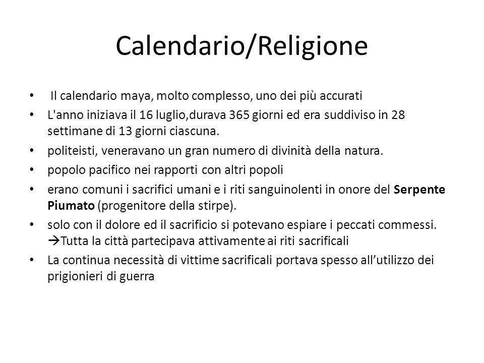 Calendario/Religione