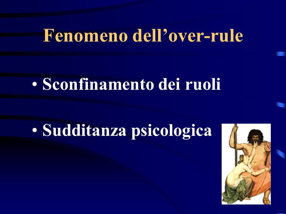 Fenomeno dell'over-rule