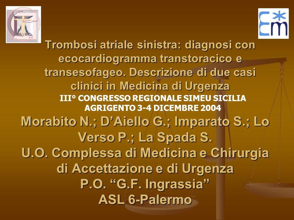 III° CONGRESSO REGIONALE SIMEU SICILIA