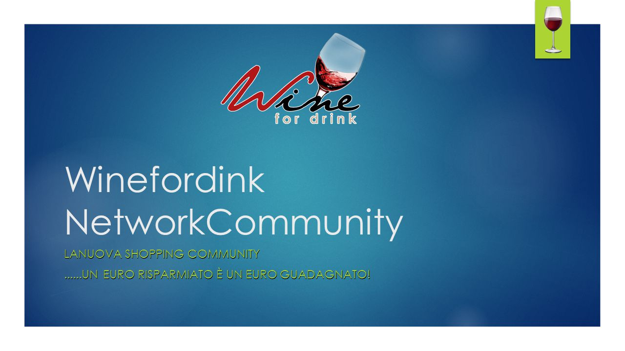 Winefordink NetworkCommunity