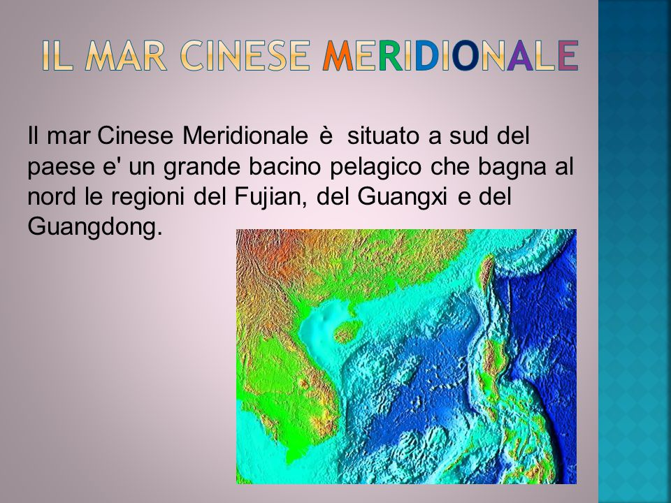 Il mar Cinese Meridionale