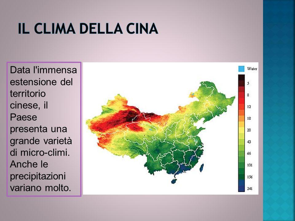 Il CLIMA DELLA CINA