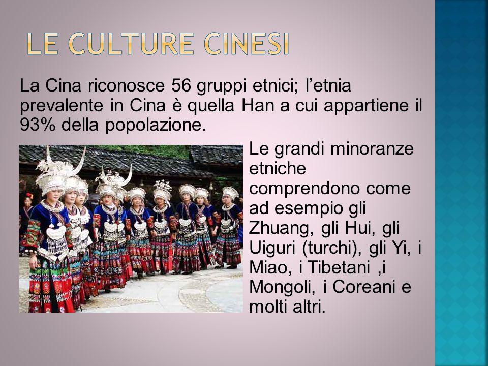 Le culture cinesi