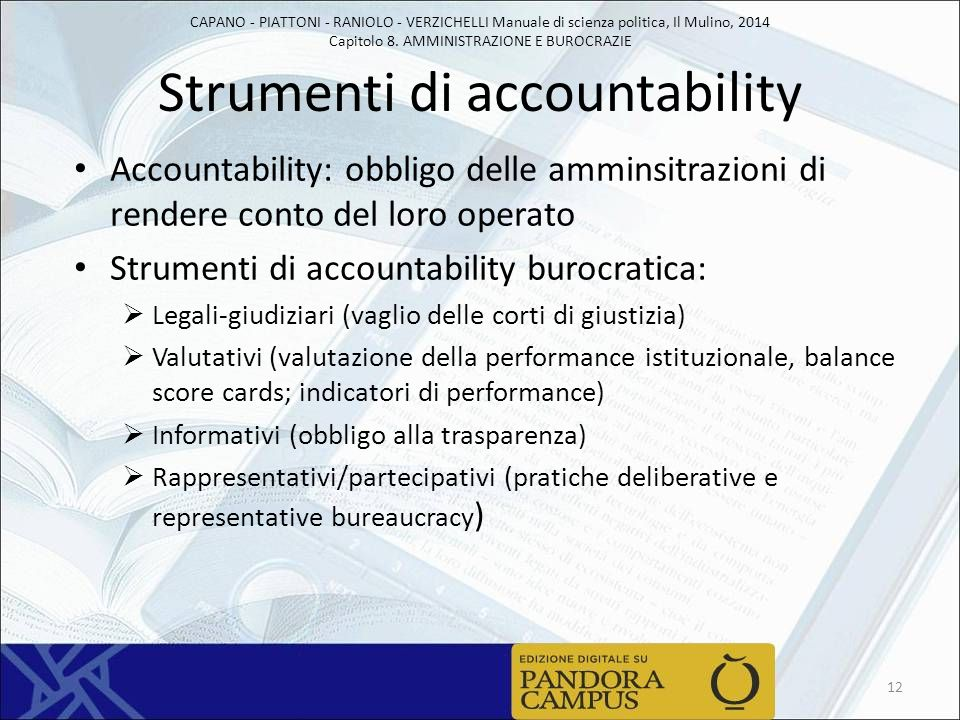 Strumenti di accountability