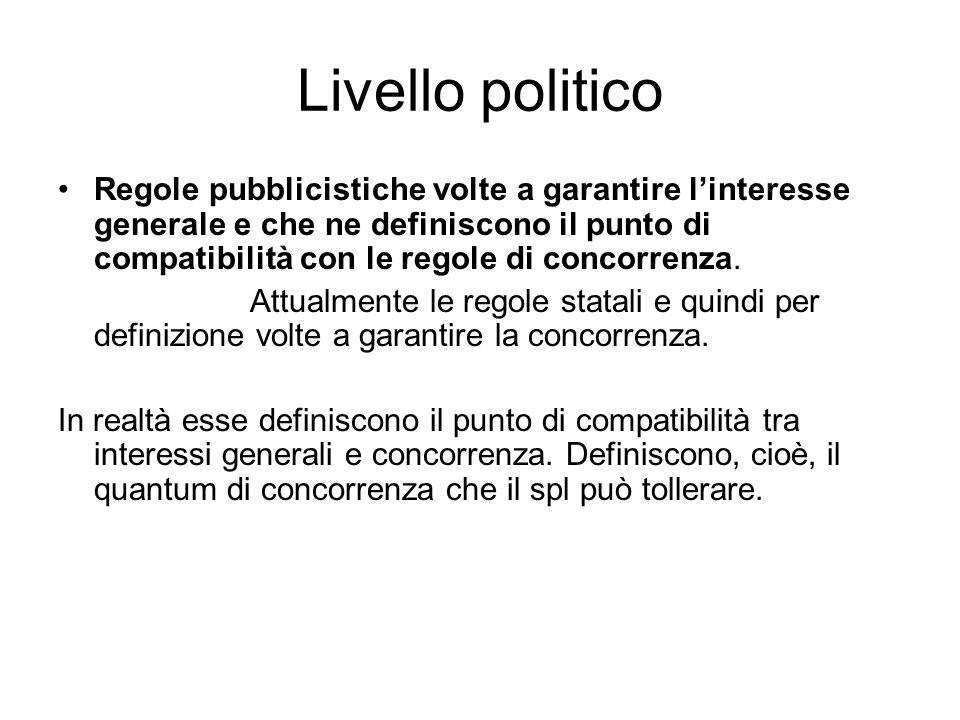 Livello politico