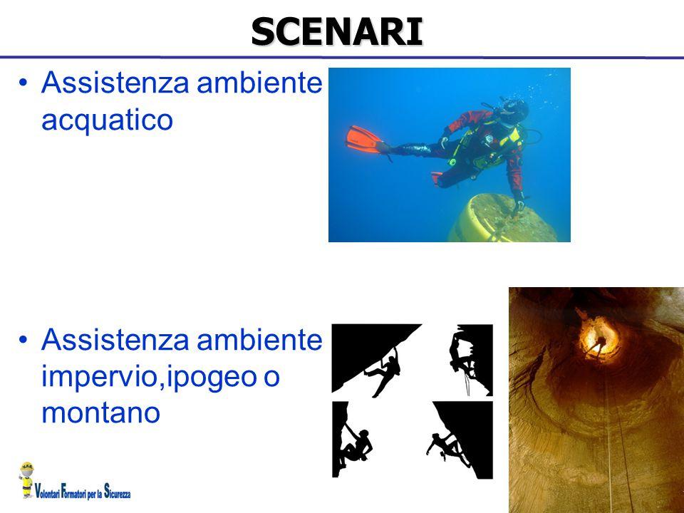 SCENARI Assistenza ambiente acquatico