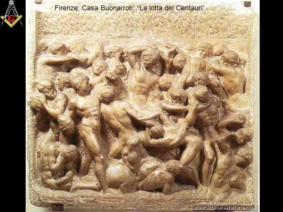 Firenze: Casa Buonarroti: La lotta dei Centauri