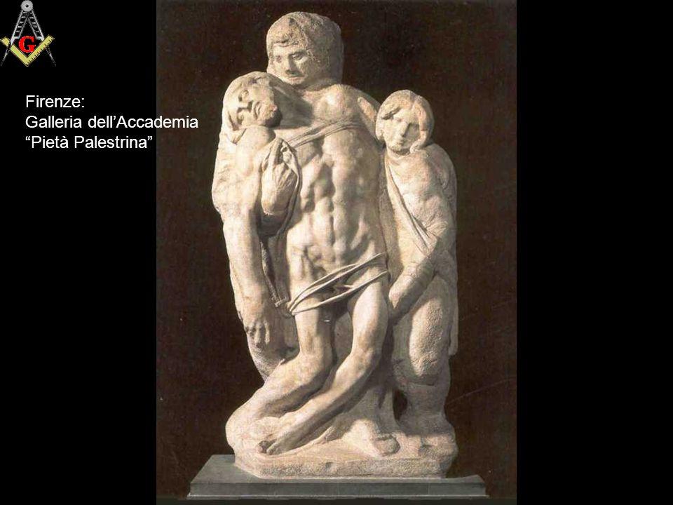 Firenze: Galleria dell'Accademia Pietà Palestrina
