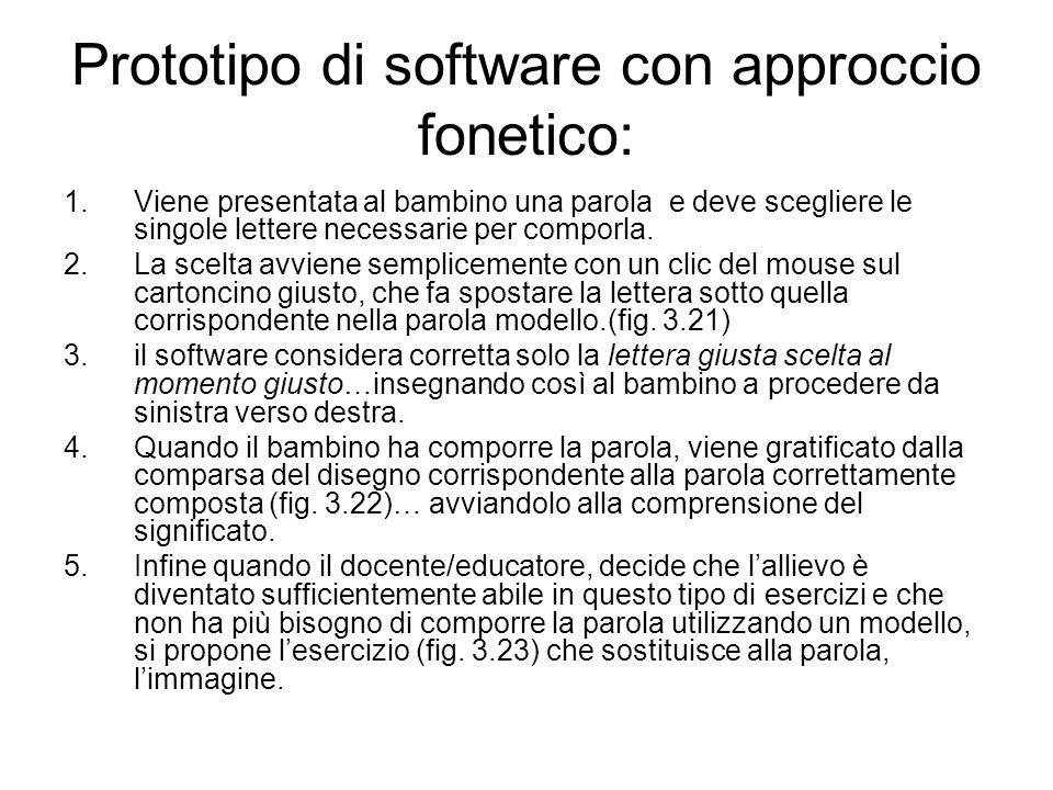Prototipo di software con approccio fonetico: