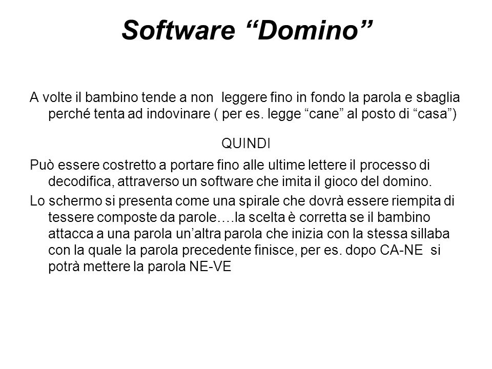 Software Domino