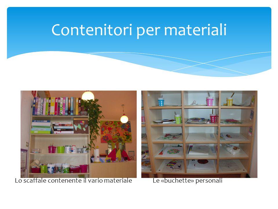 Contenitori per materiali