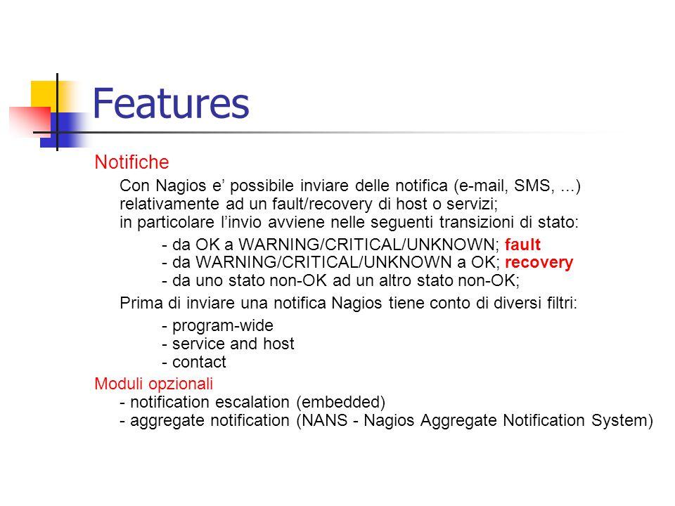 Features Notifiche.