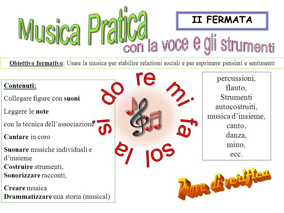 Prove di verifica Musica Pratica II FERMATA