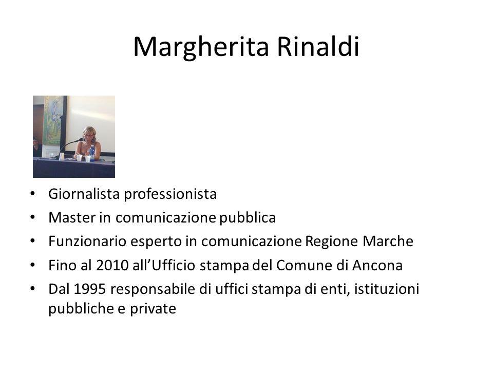 Margherita Rinaldi Giornalista professionista
