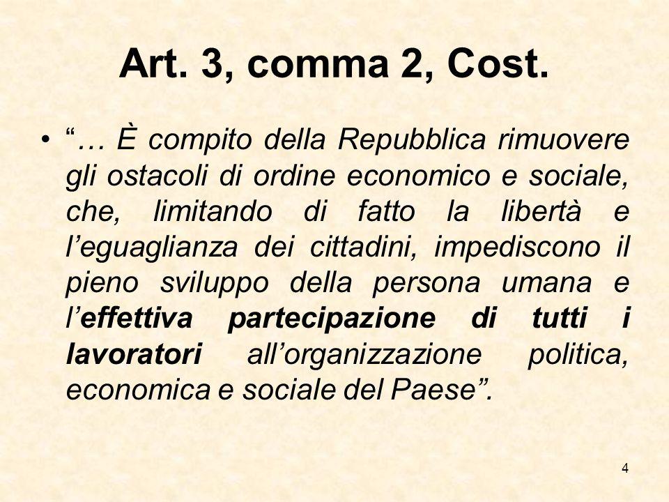Art. 3, comma 2, Cost.
