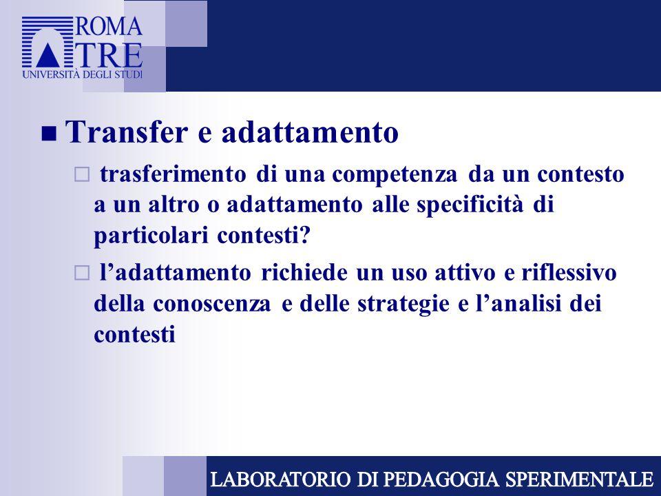 Transfer e adattamento