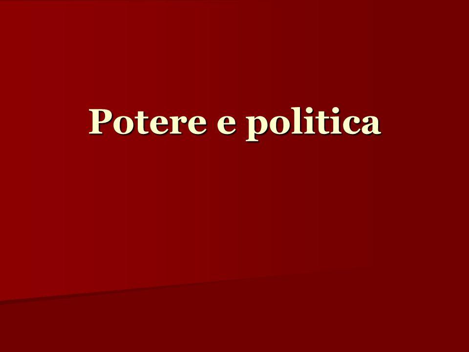Potere e politica