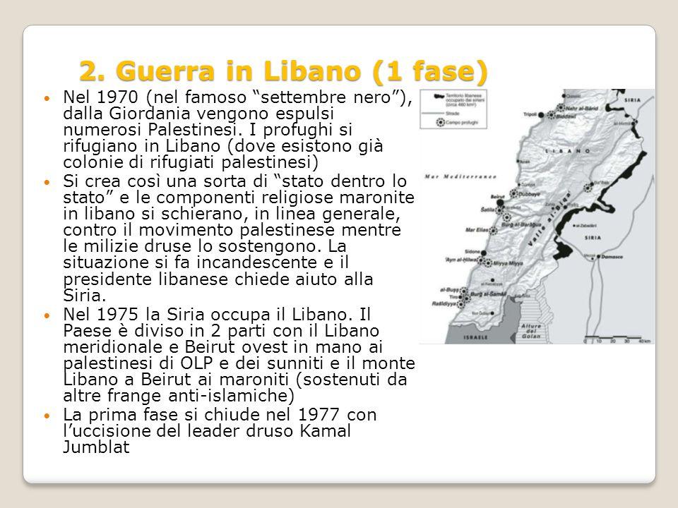 2. Guerra in Libano (1 fase)