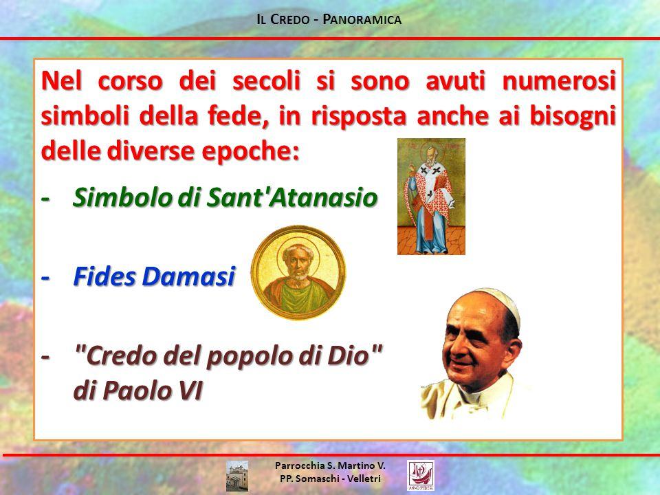 - Simbolo di Sant Atanasio - Fides Damasi - Credo del popolo di Dio