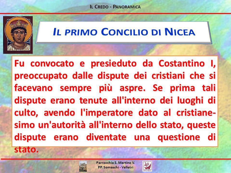 Il primo Concilio di Nicea