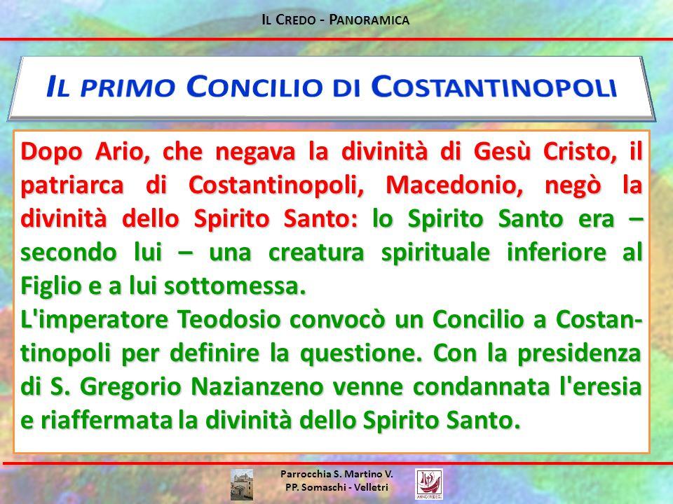 Il primo Concilio di Costantinopoli