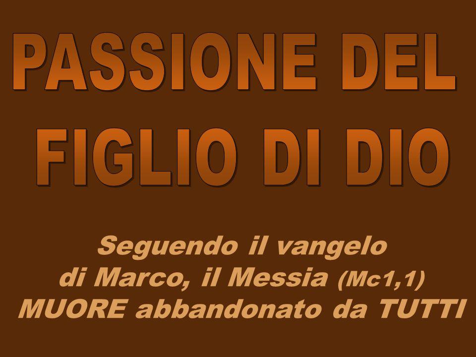 PASSIONE DEL FIGLIO DI DIO.