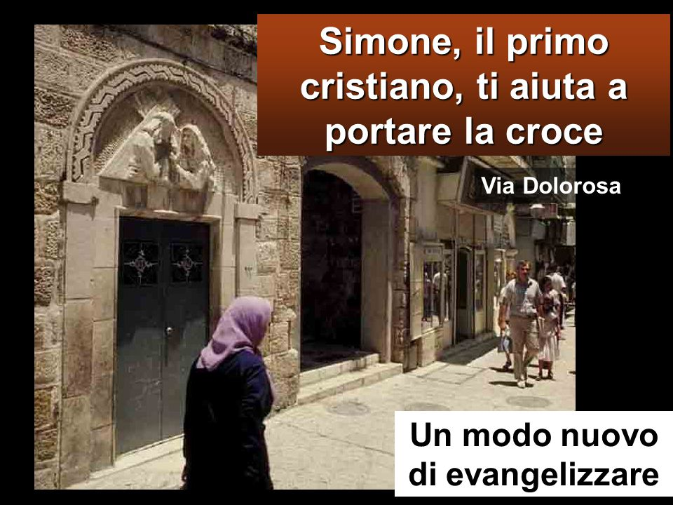 Simone, il primo cristiano, ti aiuta a portare la croce
