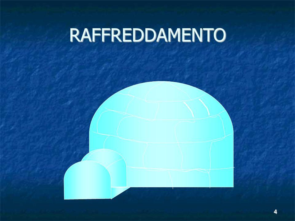 RAFFREDDAMENTO 4 Nucleo Addestramento & Prevenzione