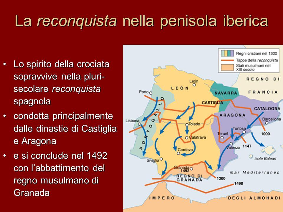 La reconquista nella penisola iberica