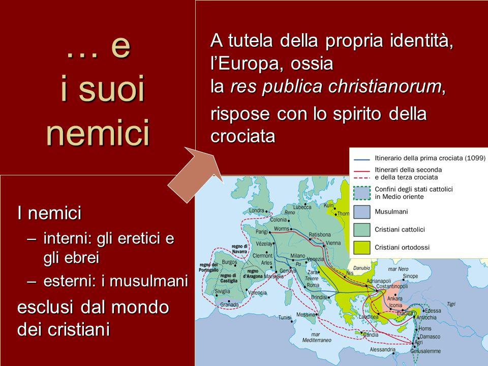 … e i suoi nemici A tutela della propria identità, l'Europa, ossia la res publica christianorum,