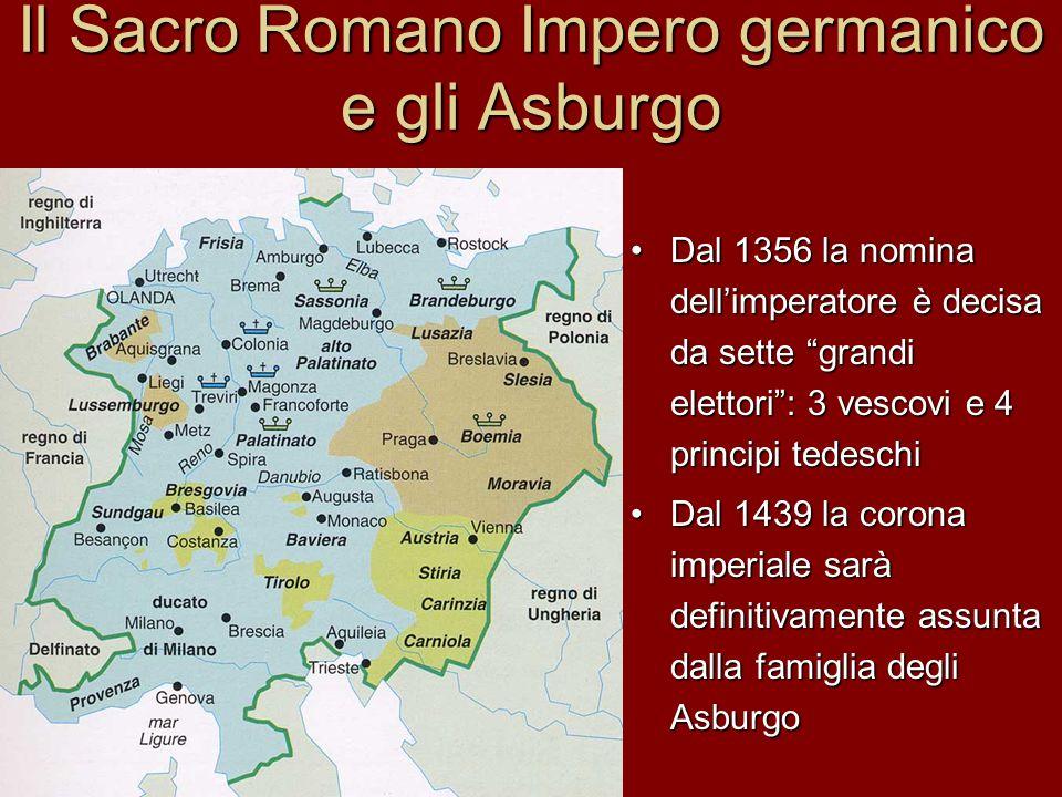 Il Sacro Romano Impero germanico e gli Asburgo
