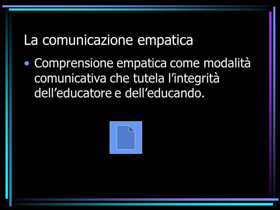 La comunicazione empatica
